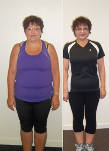 Soul-Full Living Wendy Before and After 20 Week Challenge Personal Training Palmerston North